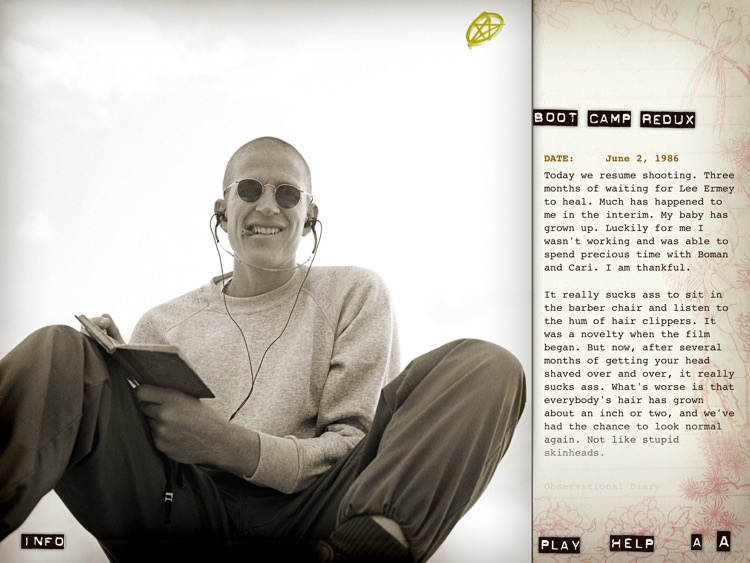 Full Metal Jacket Diary screenshot-1