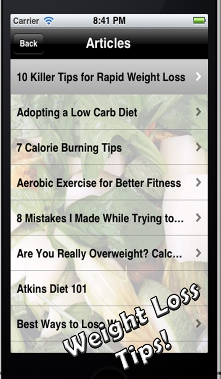 How to Lose Weight! screenshot-3