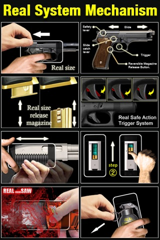 Real Guns & Games Lite :: Glock22 screenshot-3