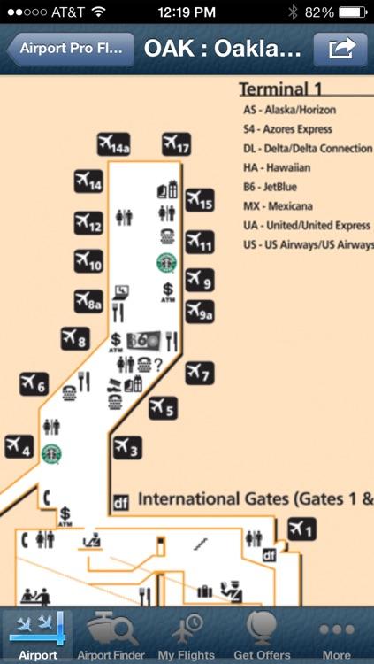 Oakland Airport info + Flight Tracker screenshot-4