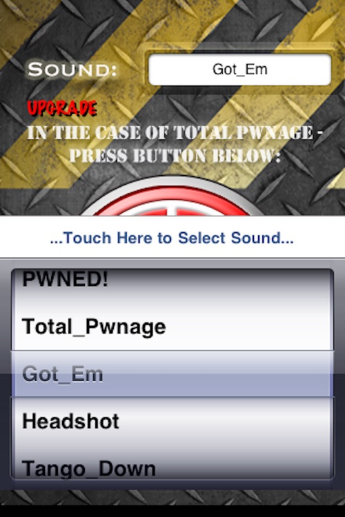PWNED + Headshot Button