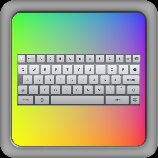 Polish Keyboard for iPad