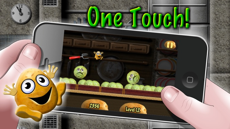 Potato Escape - One Touch Runner screenshot-1