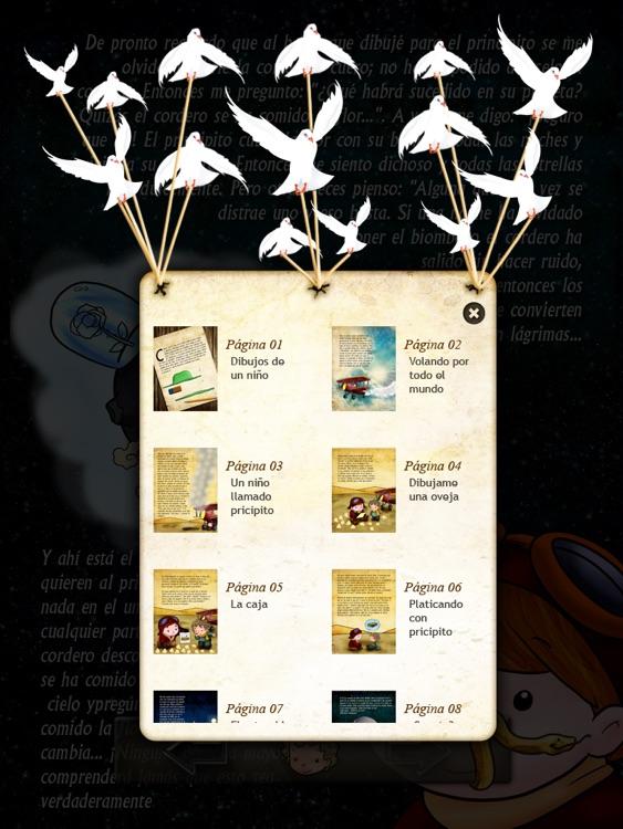 El Principito : Cuento Interactivo screenshot-4