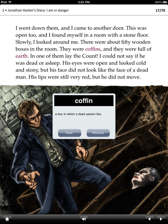 Dracula: Oxford Bookworms Stage 2 Reader (for iPad)