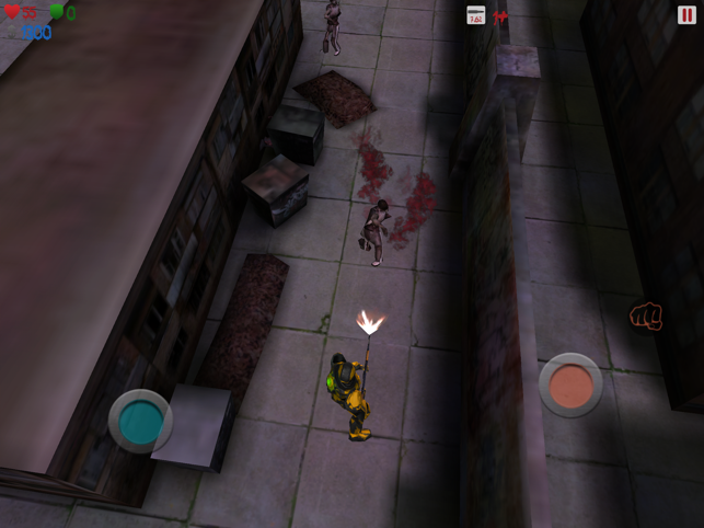 BloodLand, game for IOS