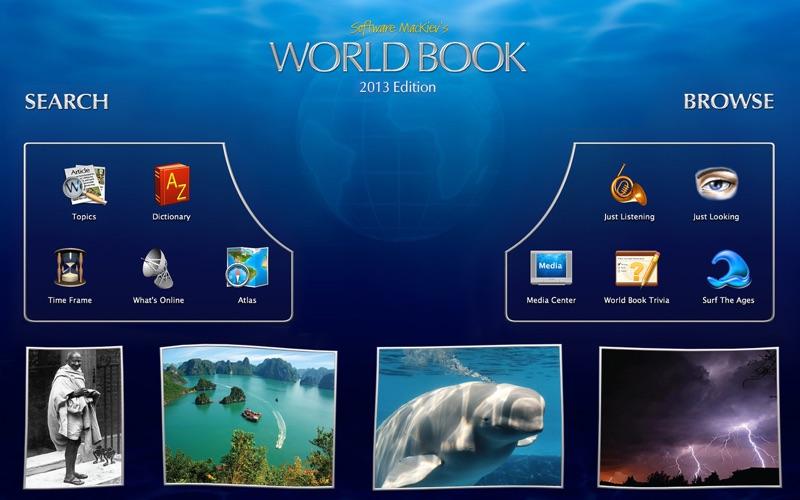 2013 World Book Screenshot