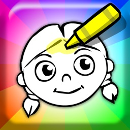 Crayon Magic - Kids Coloring Book and Drawing Fun with their own Personal Yoodle Doodles!