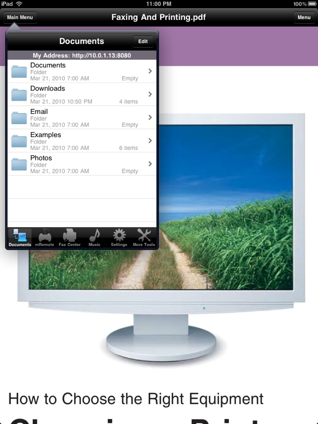 how do i print from my ipad