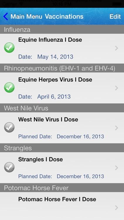 Horse Medical Agenda screenshot-4