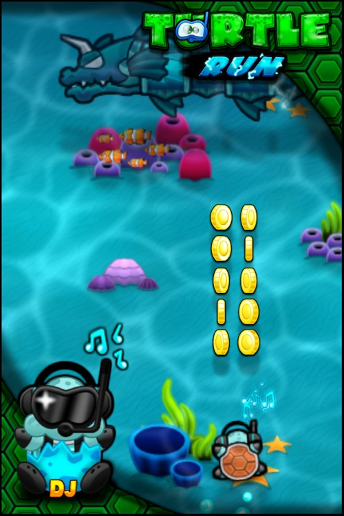 Turtle Run, Top Racing Free Game screenshot-3