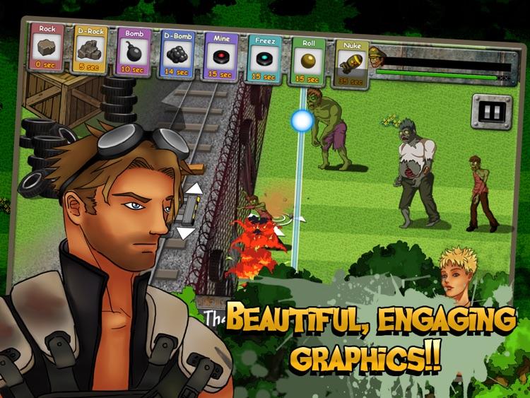 Zombies of the Wasteland HD Lite screenshot-3