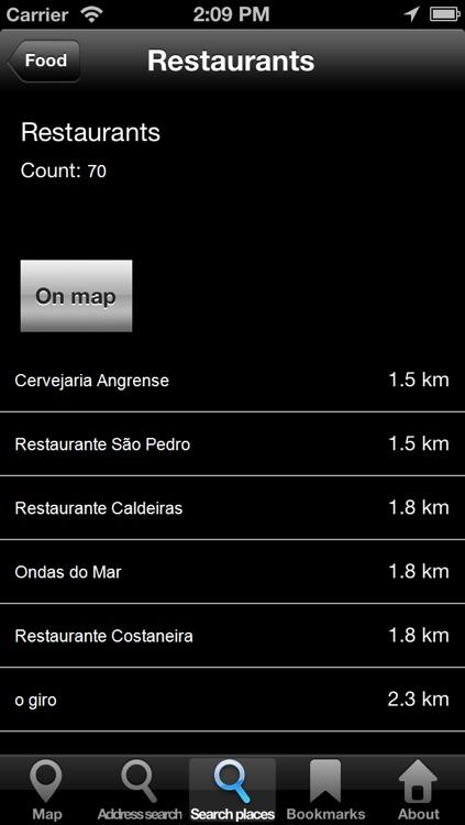 Offline Map Azores: City Navigator Maps screenshot-4