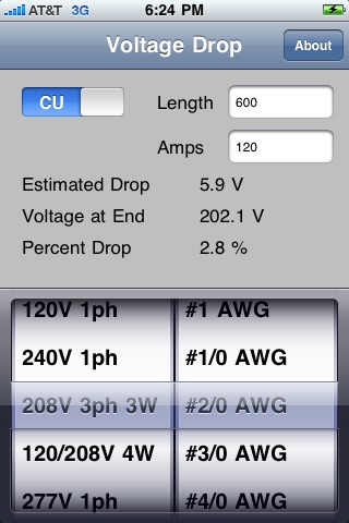 Voltage Drop Calculator screenshot-3