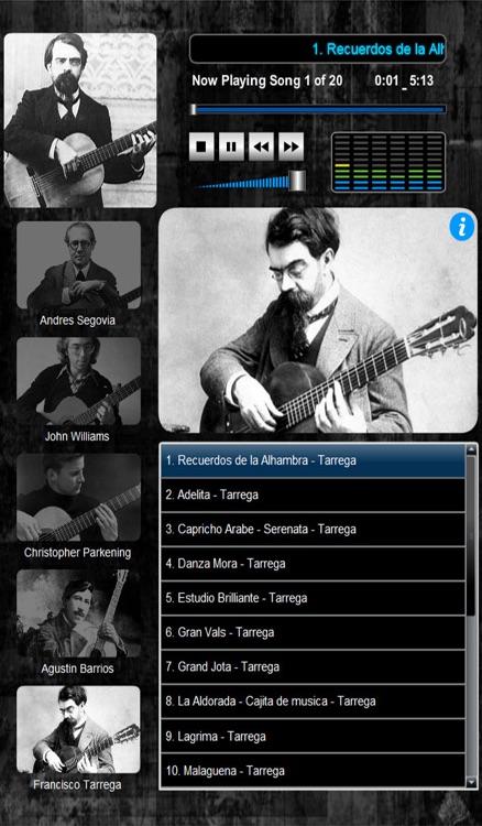 Classical Guitar Maestro (5 Master Guitarists 100 Compositions) screenshot-4