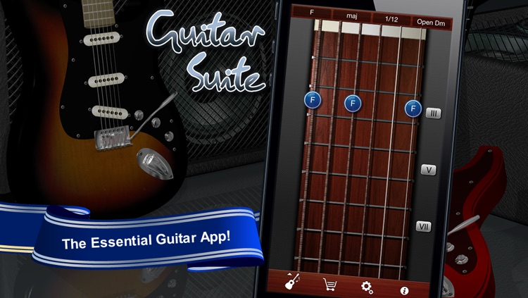 Guitar Suite Free - Metronome, Tuner, and Chords Library for Guitar, Bass, Ukulele screenshot-0
