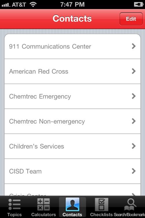 Fire Officer Field Guide SHS screenshot-4