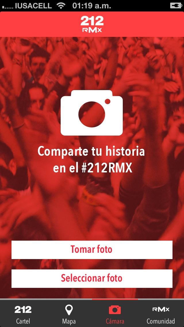 RMX Screenshot on iOS