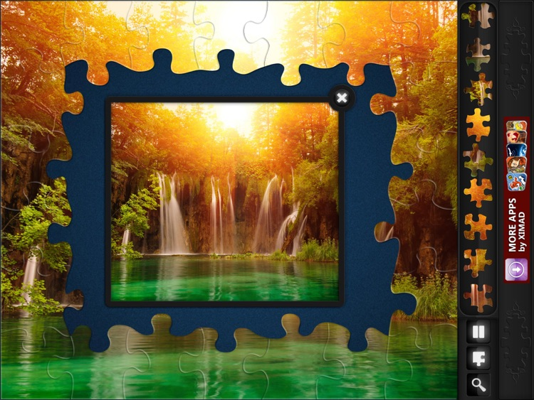 Jigsaw Puzzles: Waterfalls