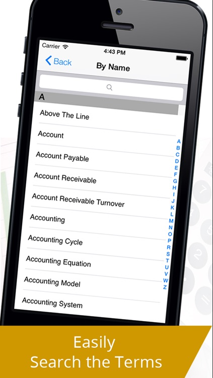 Accounting Terminology Glossary