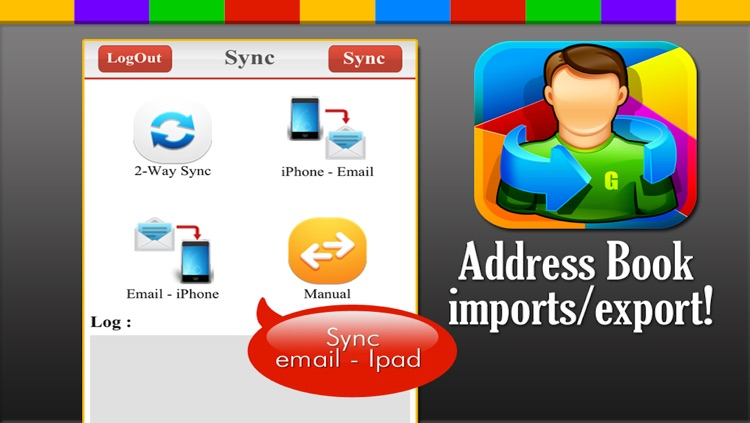 Contact Import and Export for Google Gmail screenshot-3