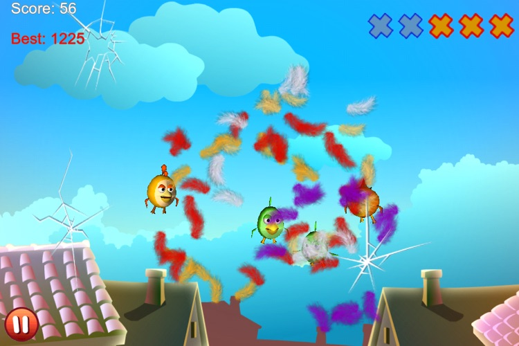 Cut the Birds 3D screenshot-3