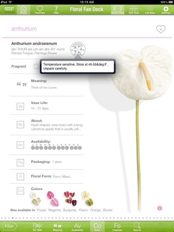 Floral Fan Deck screenshot-3