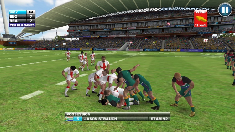 Jonah Lomu Rugby Challenge: Gold Edition screenshot-4