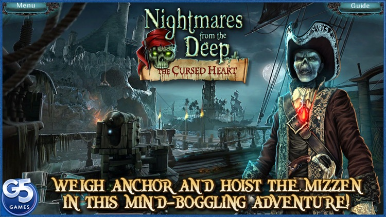 Nightmares from the Deep™: The Cursed Heart, Collector's Edition screenshot-0