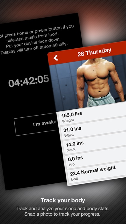 FitnessFast - Daily fitness exercise workout weight and sleep tracker screenshot-3