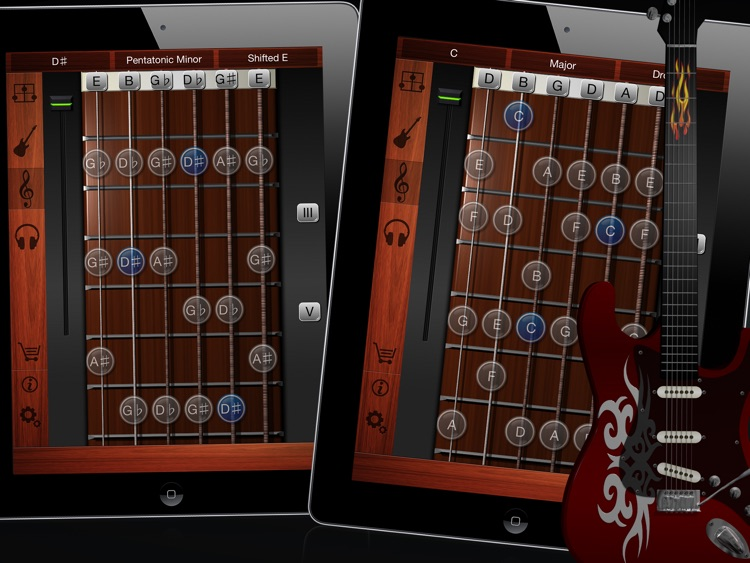 Guitar Suite HD Free - Metronome, Tuner, and Chords Library for Guitar, Bass, Ukulele screenshot-3