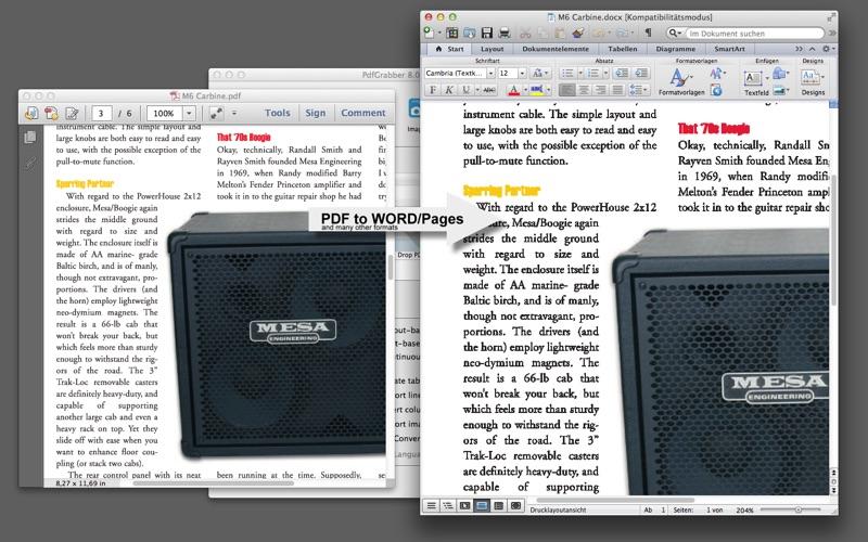 PdfGrabber Professional for Mac
