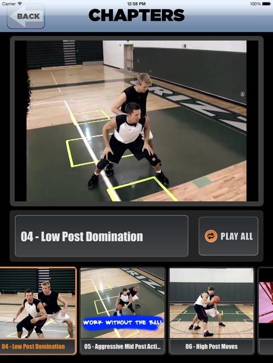 Unstoppable Offensive Moves: Volume 2 - Post & Interior Scoring Skills - With Ganon Baker - Full Court Basketball Training Instruction - XL