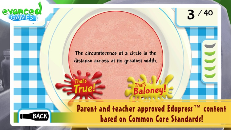 That's Baloney! Kids Quiz Game screenshot-4