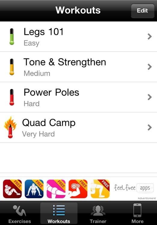 Leg Workouts Free screenshot-3