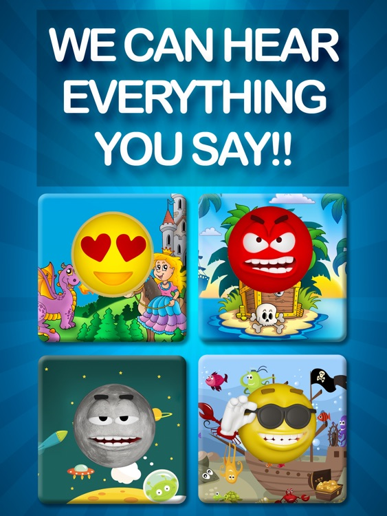 Emoji Family – Talking & Singing Smiley Face & Mouth – Funny Free Voice Emoticons, Pet Poop & Animals screenshot-4