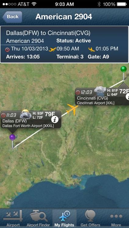 Cincinnati Northern Kentucky Airport + Flight Tracker