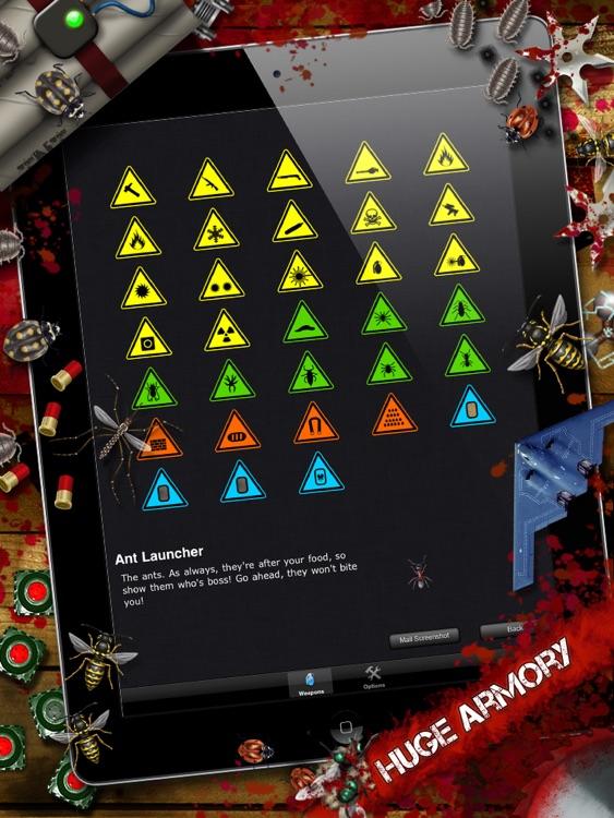 iDestroy HD - Bug battlefield Destroyer: Smash all walking bugs dead! screenshot-3