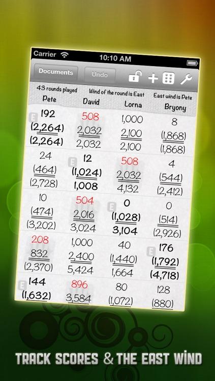 Mahjong Score Book