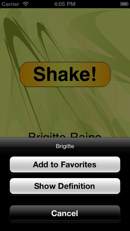 Name Shake screenshot-1
