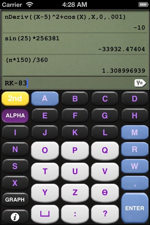 RK-83: Scientific Graphing Calculator screenshot-3