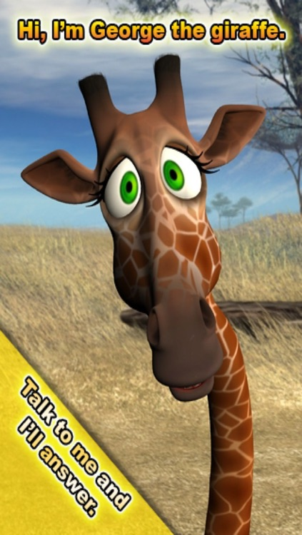 Talking George The Giraffe screenshot-3