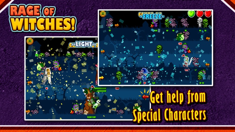 Rage of Witches Halloween Tap Tap Special screenshot-2