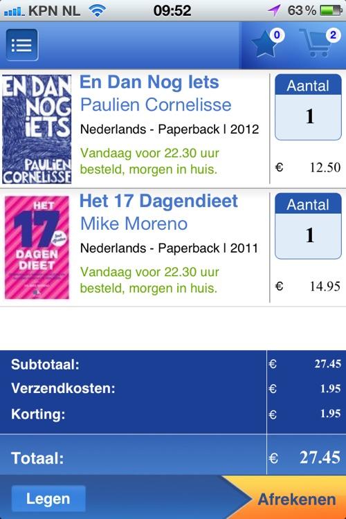 Boeken Top 100 app voor bol.com screenshot-3