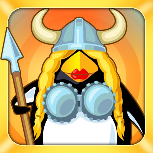 Crazy Penguin Assault For iPad icon