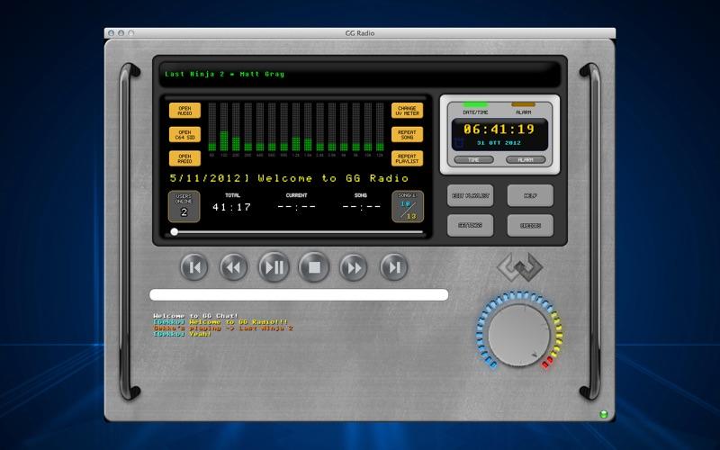 GG Radio : SID + Media Player screenshot 1