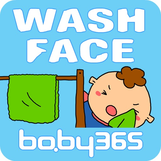 Wash face-baby365 icon