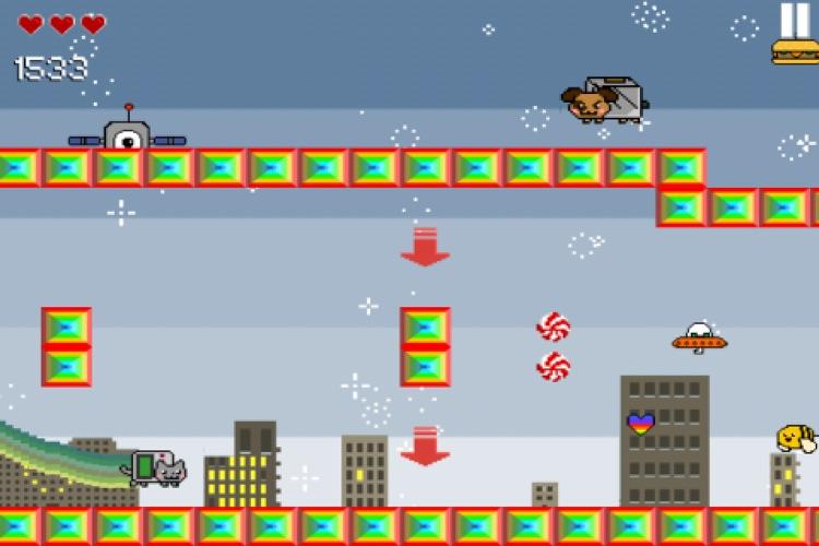 Nyan Cat Adventure screenshot-3