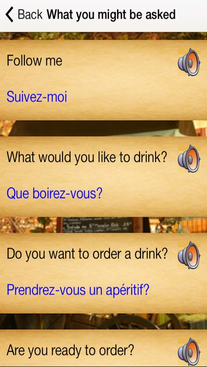 French Menu screenshot-3