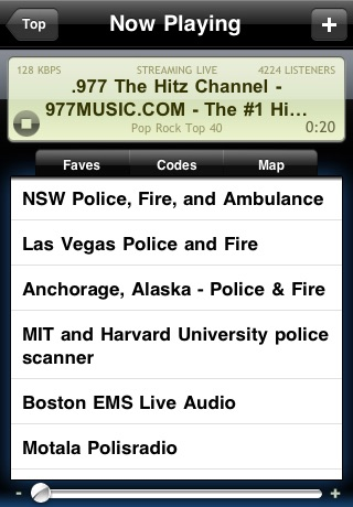 Radio Scanner (live Police Music Stations) review screenshots